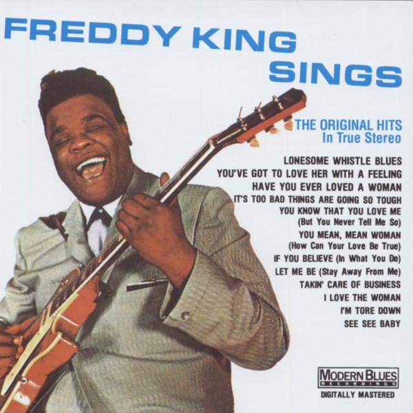 Freddy King Sings
