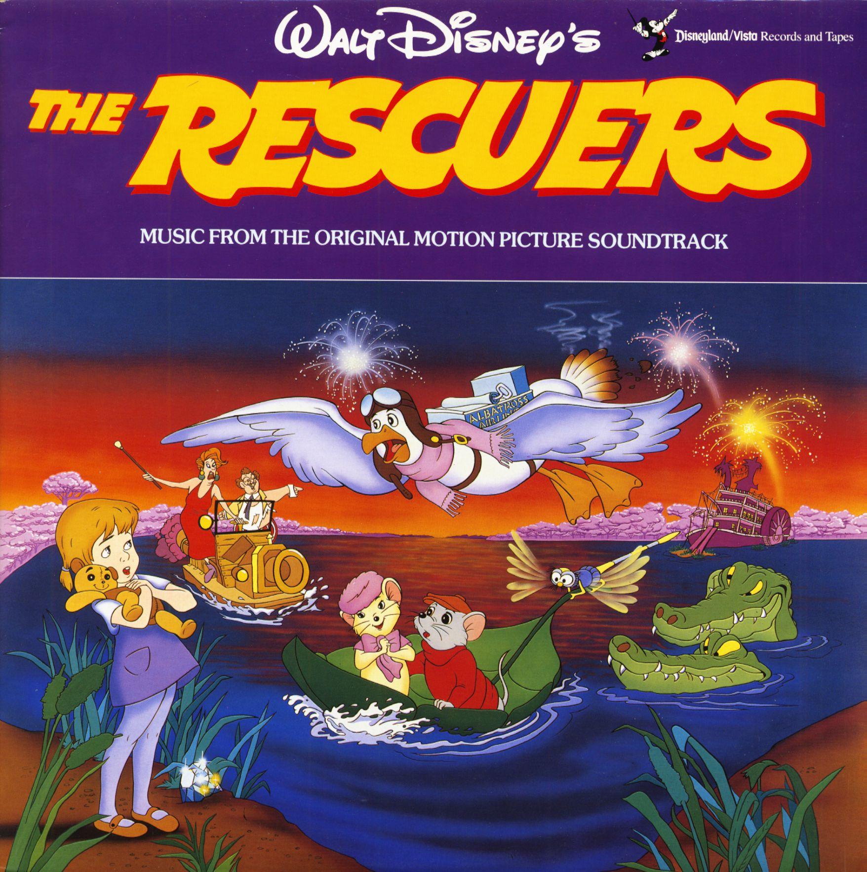 Various Lp The Rescuers Soundtrack Lp Bear Family