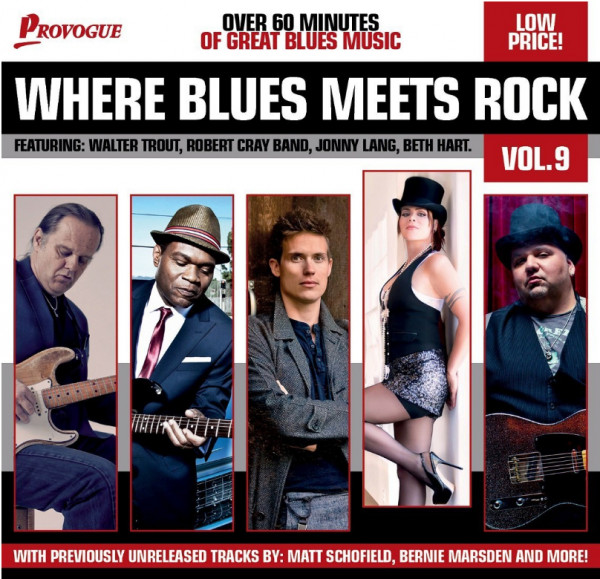 Where Blues Meets Rock, Vol.9