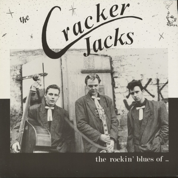 The Rockin Blues Of The Cracker Jacks (LP, Maxi, 45rpm)