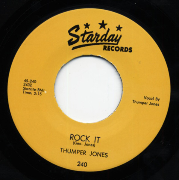 Rock It - How Come It 7inch, 45rpm