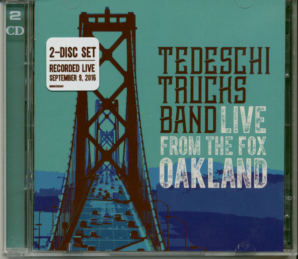 Live From The Fox Oakland 2016 (2-CD)