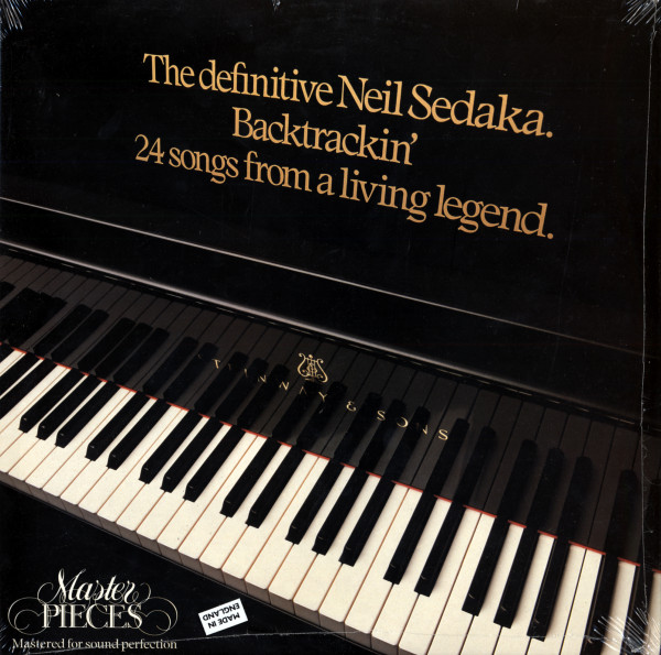The Definitive Neil Sedaka - Backtrackin' (2-LP)