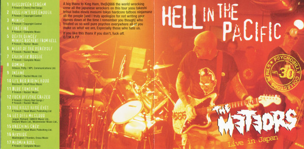 Hell In The Pacific - Live In Japan (CD Album)