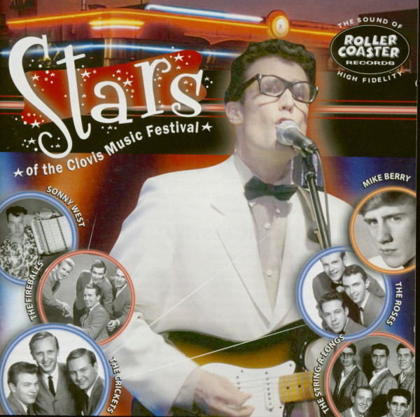Clovis Rocks - Stars Of The Clovis Music Festival (CD)