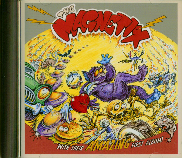 The Magnetix With Their Amazing First Album
