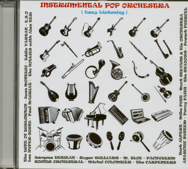 Instrumental Pop Orchestra (CD)