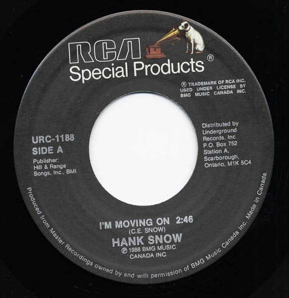 I'm Moving On - I've Been Everywhere 7inch, 45rpm