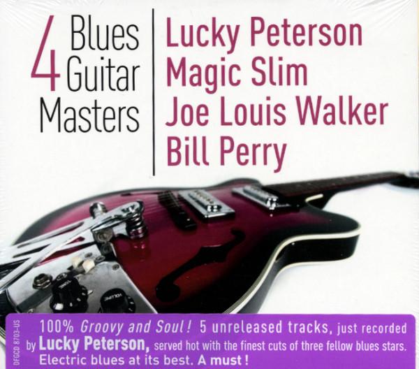 4 Blues Guitar Masters