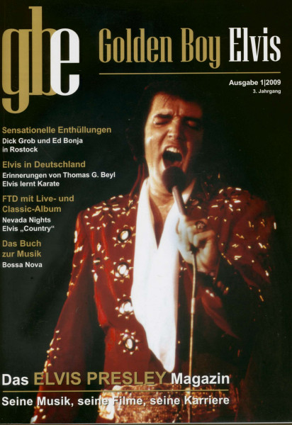 Golden Boy Elvis - Fachmagazin 1-2009