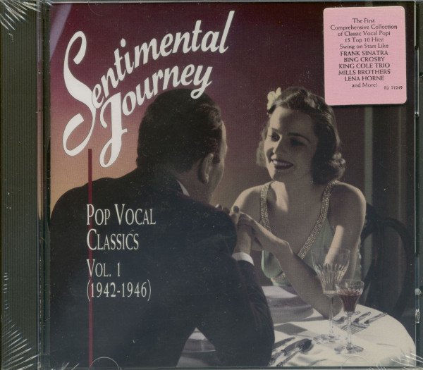 Sentimental Journey, Vol.1 - Pop Vocal Classics 1942-1946 (CD)