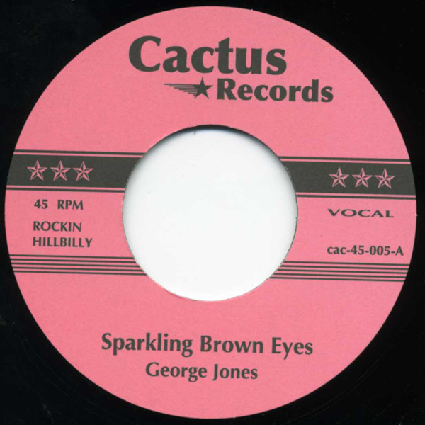 Sparkling Brown Eyes - Cherokee Boogie 7inch, 45rpm