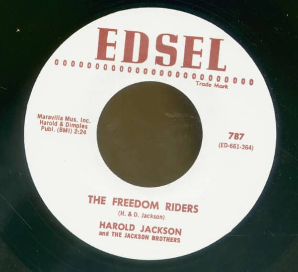 The Freedom Riders - Travelin' (7inch, 45rpm)