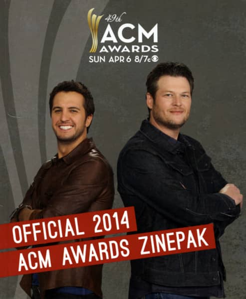 Official 2014 Academy Of Country Music Awards Zinepak