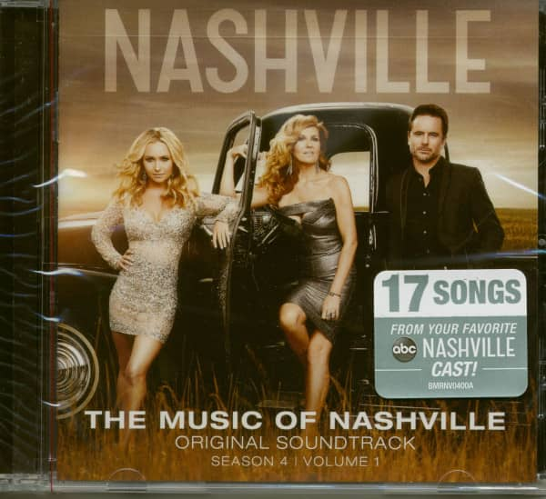 The Music Of Nashville: Season 4 Vol.1 (CD)