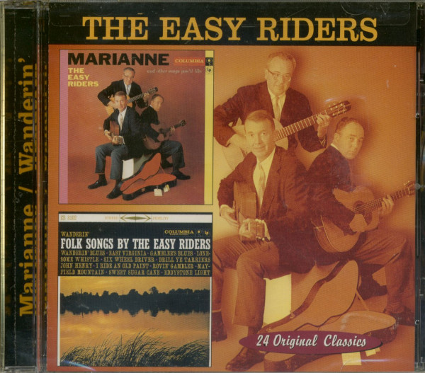 Marianne - Wanderin' Folk Songs By The Easy Riders - Cut Out (CD)