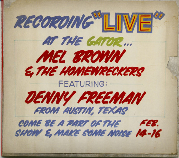 Under Yonder: Mel Brown Live At Pop The Gator 1991 (CD)