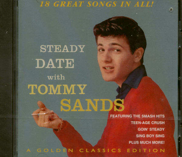 Steady Date With Tommy Sands (CD)