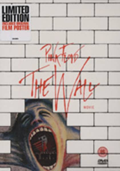 Pink Floyd Dvd The Wall Movie Limited Edition Bear Family Records