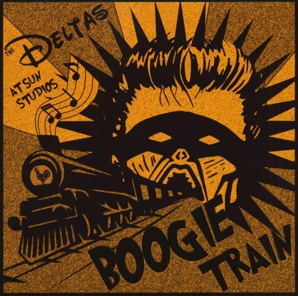 Boogie Train (LP, 10inch, Splatter Vinyl, Ltd.)