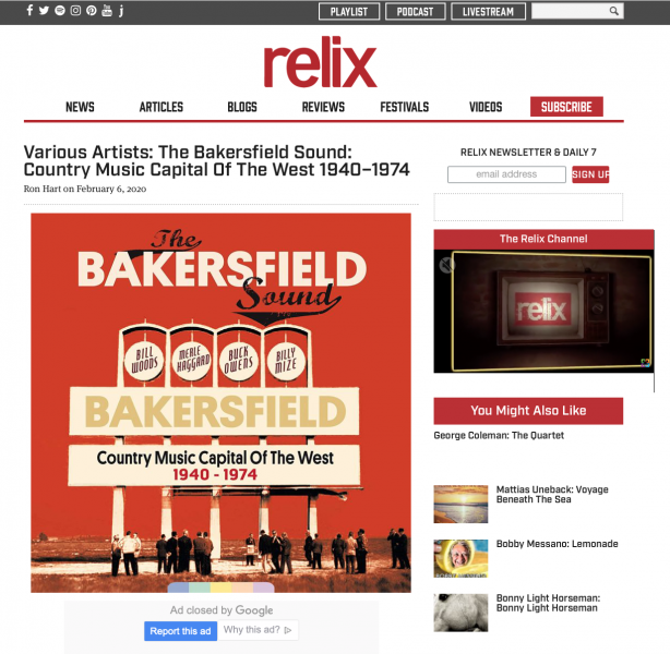 Presse-Archiv-Various-Artists-The-Bakersfield-Sound-1940-1974-Relix