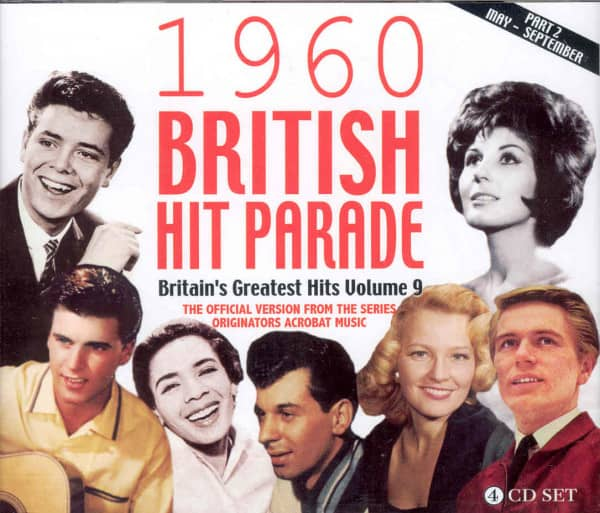 Vol.2, 1960 British Hit Parade (4-CD)