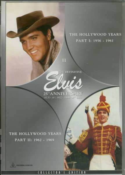 Elvis - The Hollywood Years Part I & II (DVD)