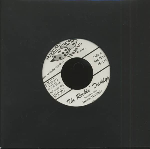 Dressed In Style - Proud To Be (7inch, 45rpm)