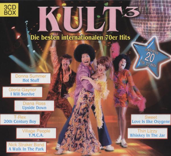 Kult - Internationale 70er Hits 3-CD