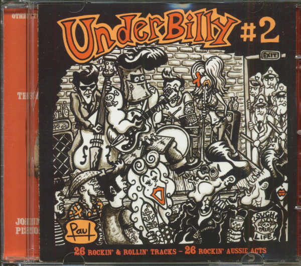 Underbilly No.2 - Australian Rockabilly Compilation (CD)