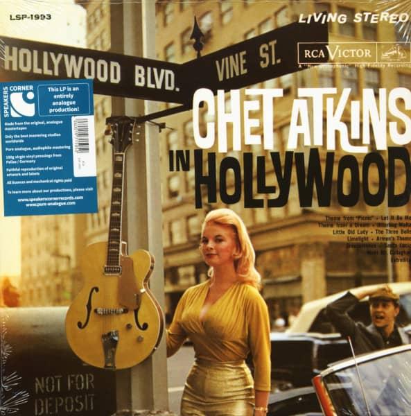 Chet Atkins In Hollywood (LP, 180g Vinyl, Ltd.)
