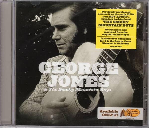George Jones & The Smoky Mountain Boys (CD)