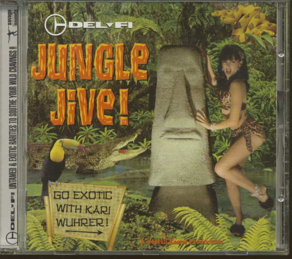 Del-Fi Jungle Jive! (CD)