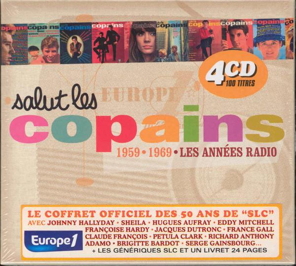 Salut Les Copains - Les Anees Radio 59-69 4CD
