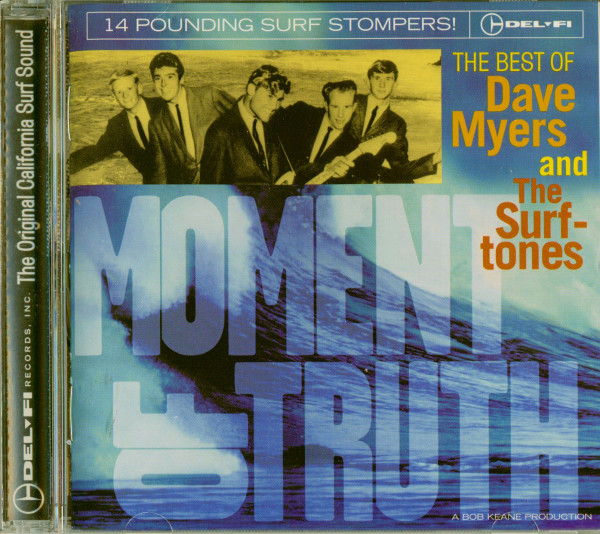 Moment Of Truth - The Best Of Dave Myers And The Surftones (Cut-Out)