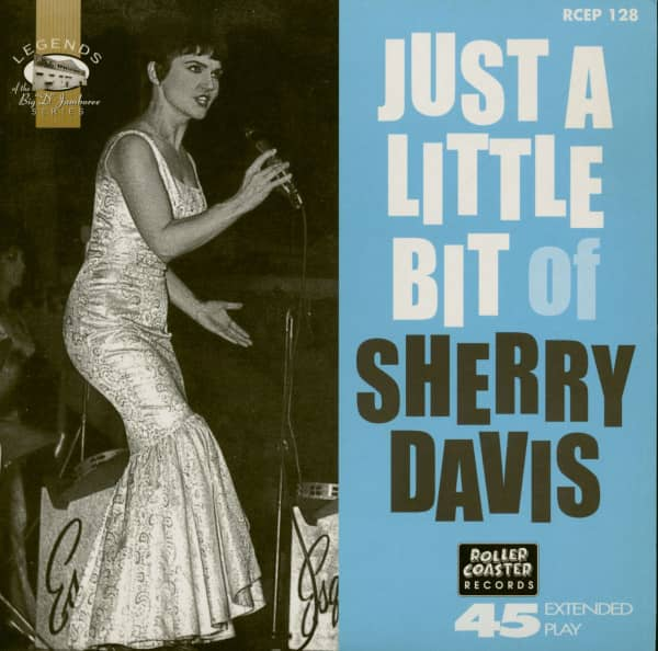 Just A Little Bit of Sherry Davis (7inch EP, 45rpm, PS, SC)