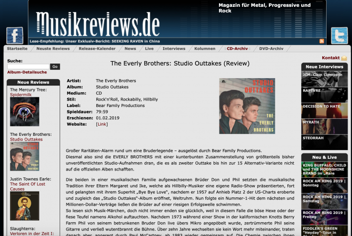 Presse-The-Everly-Brothers-Studio-Outtakes-musikreviews