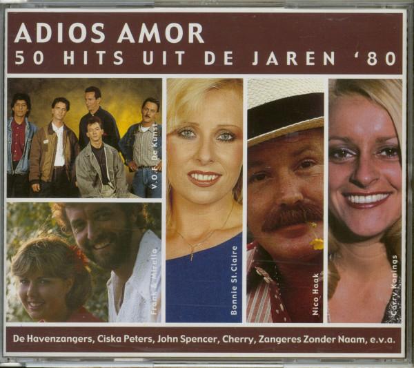 Adios Amor - 50 Hits Uit De Jaren 80 (2-CD)