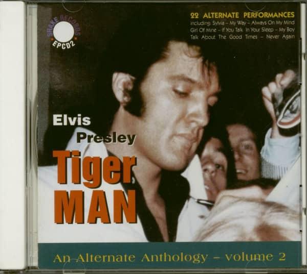 Tiger Man - An Alternate Anthology Vol.2 (CD)