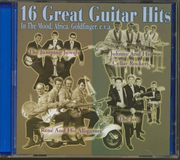 16 Great Guitar Hits (1959-66) (CD)