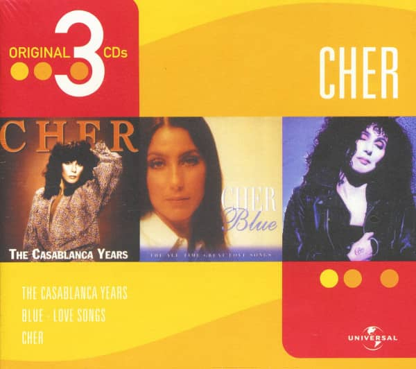 The Casablanca Years - Blue - Cher (3-CD)