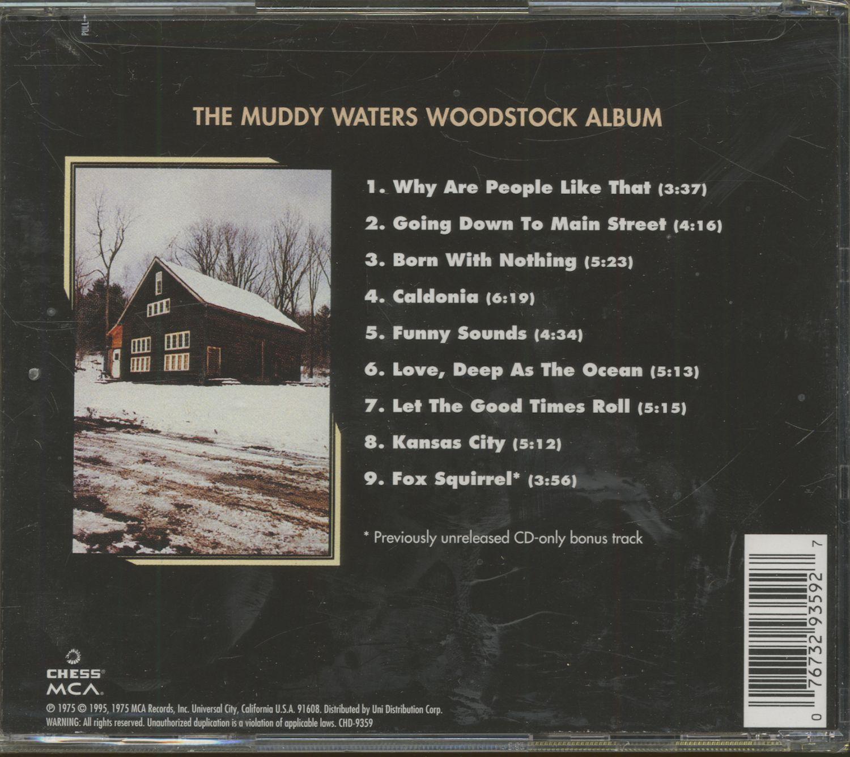 Muddy Waters The Muddy Waters Woodstock Album (CD)