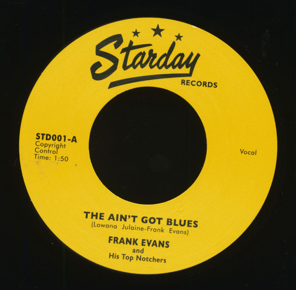 The Ain't Got Blues - Blues Around My Door (7inch, 45rpm, BC)
