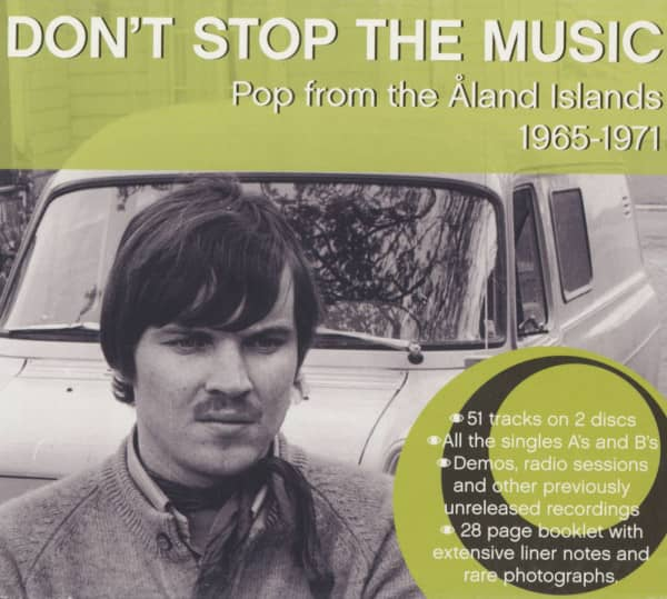 Don't Stop The Music - Pop From The Aland Islands 1965-71 (2-CD)