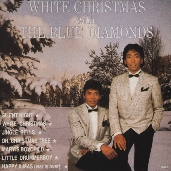 White Christmas With The Blue Diamonds (CD)