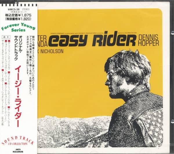 Easy Rider - Original Motion Picture Soundtrack (CD, Japan)