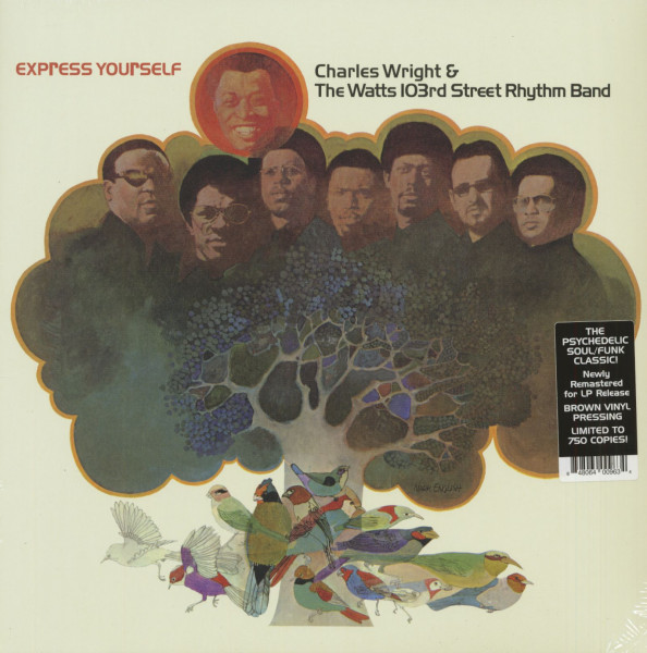 Express Yourself (LP, Brown Vinyl, Ltd.)