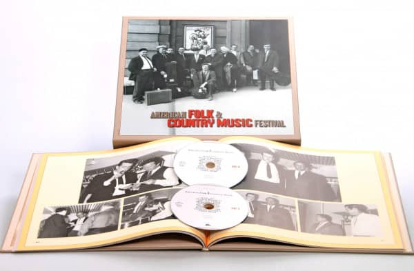 American Folk & Country Festival 1966(2-CD Deluxe Box Set)