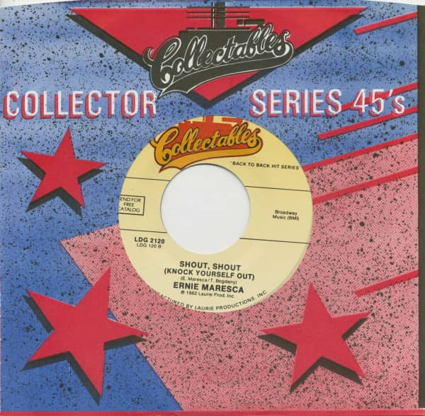 Marcie Blane, Bobby's Girl - Ernie Maresca, Shout, Shout (Knock Yourself Out)(7inch, 45rpm, BC, CS)