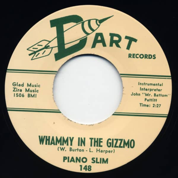 Whammy In The Gizzmo - Squeezing 7inch, 45rpm